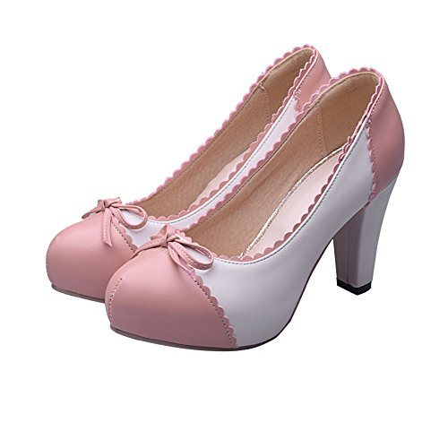 Charm-Foot-Womens-Spirng-High-Heel-Pumps-Dress-Shoes