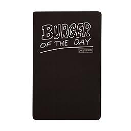 Bob\'s Burger Burger of the Day Magnet Chalkboard