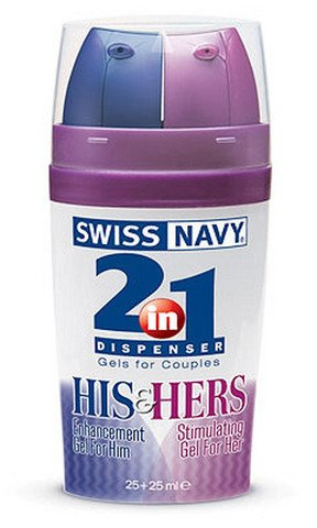 Swiss-Navy-2-in-1-Dispenser-HIS-HERS-Stimulating-Gels-for-Couples