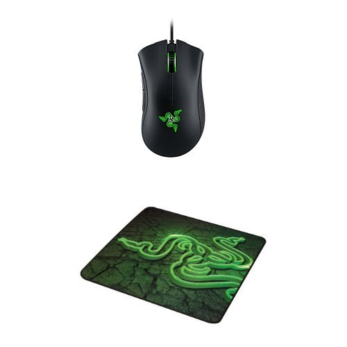 Razer DeathAdder Chroma - Multi-Color Ergonomic Gaming Mouse - 10,000 DPI Sensor + Gaming Mouse Mat (10000 Fps compare prices)