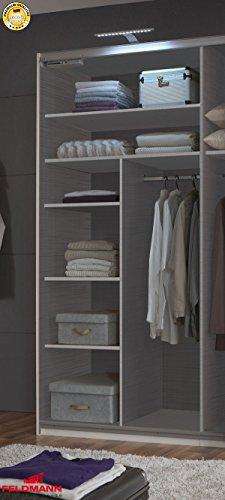 Inneneinteilung-Zubehr-fr-Kleiderschrank-414990-1-Dekor-Leinen-grau