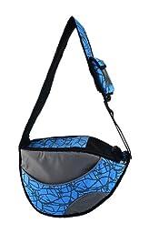 One for Pets The Messenger Pet Bag, Black