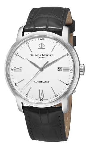 BAUME ET MERCIER CLASSIMA MOA8592 GENTS STAINLESS STEEL CASE AUTOMATIC WATCH