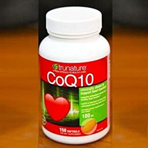 TruNature Coenzyme CoQ10 100 mg - 150 Softgels (Pack of 3)