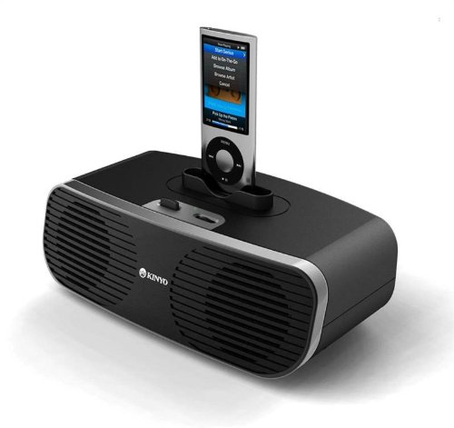 Kinyo Ms780 Speaker System 2.0 Portable For Mp3 Ipod 4W Led