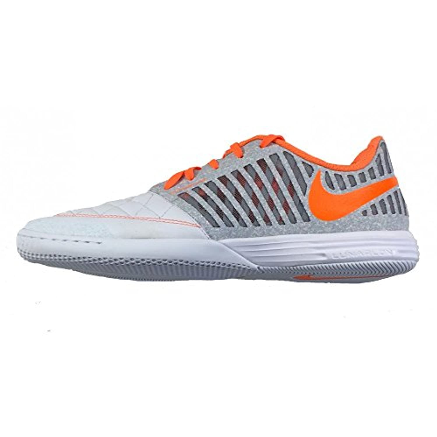 competitive price b2c70 42d63 cheap nike lunargato ii mens indoor soccer shoes blue 5b1e3 2cdaf  coupon  code for get nike lunargato ii indoor soccer shoes wolf grey total orange  sz.