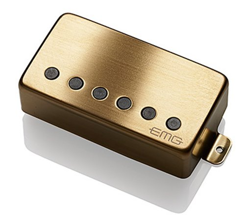 EMG 57-B BG Alnico V Active Bridge Humbucker - brushed gold