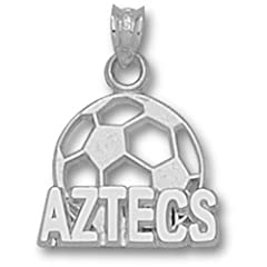 San Diego State Aztecs Soccerball - 14K Gold by Logo Art