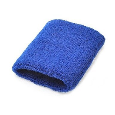 A Pair Of Bobo Sportline Wrist Band, Terry Cloth Wristband, Wrist Sweat Band, Sports Sweatband, Royalblue