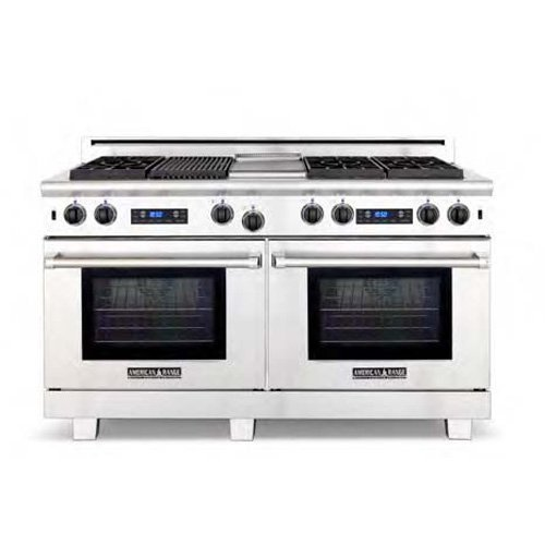 Freestanding Gas Range With Griddle