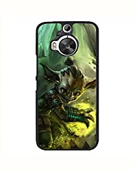 Aart Designer Luxurious Back Covers for HTC One M9 + 3D F1 Screen Magnifier + 3D Video Screen Amplifier Eyes Protection Enlarged Expander by Aart Store.