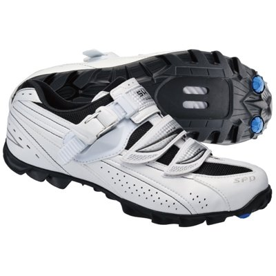 Shimano SH-WM62 Mountain Bike Shoes – Women's, White/Black, 41