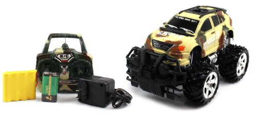 BIG SIZE RECHARGEABLE Electric Full Function 1:16 Military Armor Lexus RX Crossover RTR RC Truck (COLORS MAY VARY) Remote Control Monster Truck!