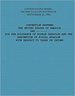 United States Model Income Tax Convention Of September 20, 1996