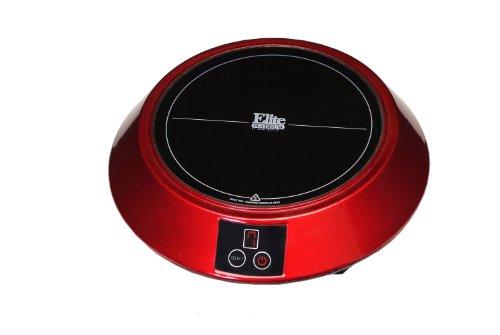 Maximatic Eind-88R Elite Platinum Induction Cooker, Mini, Red