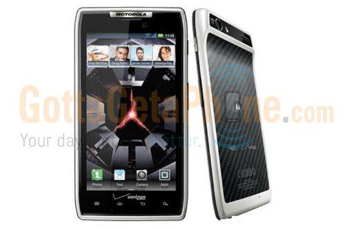 Motorola Droid Razr White No Contract 4G Lte Wifi Android Smartphone