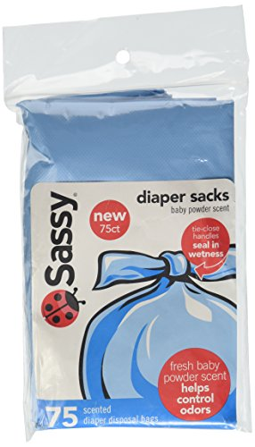 Sassy Disposable Scented Diaper Sacks-75 Cnt Pack - 1