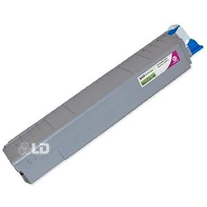 LD © Okidata C8800 Series Compatible 43487734 Magenta Laser Toner Cartridge
