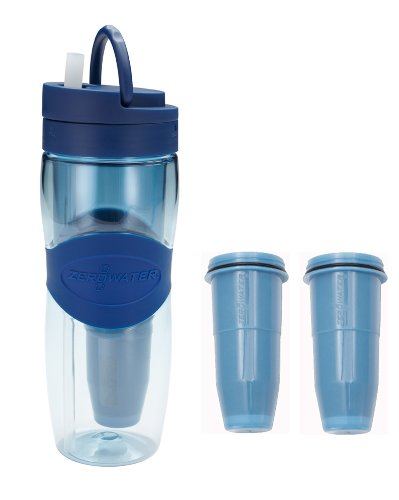 ZeroWater ZB-M01 Travel Filter Bottle with 2-Pack Replacement Filters at Sears.com