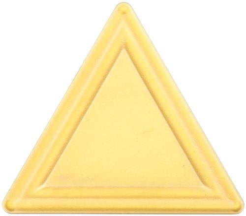 Sandvik Coromant TPMR 222 4025 GC4025 Grade, MTCVD Coated, Triangle Shape, Groove Chip Breaker, 222 Insert Size, 0.125