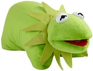 Amazon Com Pillow Pets Authentic Disney 18 Quot Kermit
