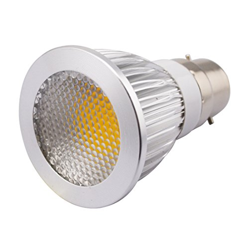 Grexistar 5W B22 Ac 85V~265V / 50 / 60Hz Cob Led Spot Light Bead Surface Lens Warm White