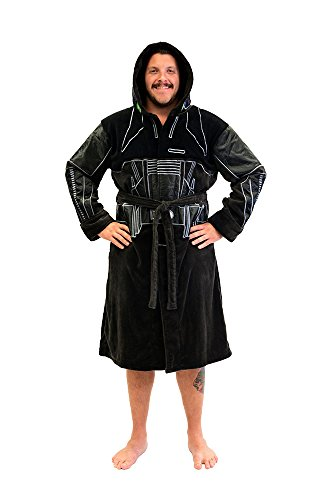 Star Wars Rogue One Death Trooper R1 Fleece Costume Robe (One Size)