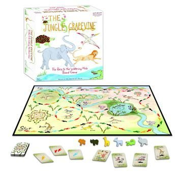 The Jungle Grapevine Board Game