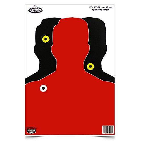 Birchwood Casey Dirty Bird Hostage 12 x 18-Inch Target, 8 Sheet Pack