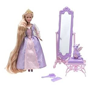 Mattel - Poupée - Mini Princesse Raiponce