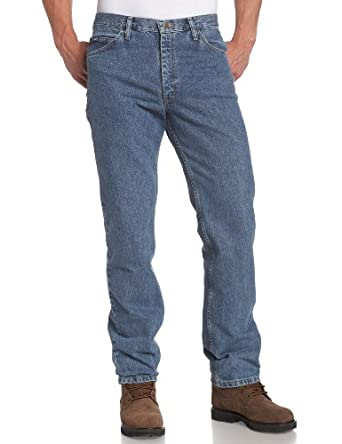 Lee Men's Regular Fit Straight Leg Jean, Pepperstone, 32W x 34L