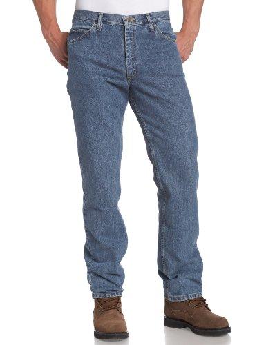 Lee Men's Regular Fit Straight Leg Jean, Pepperstone, 36W x 32L
