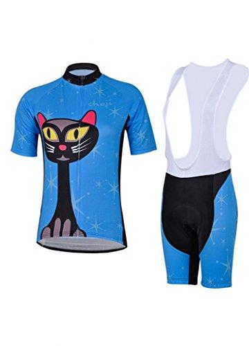 2014 Style Tenacious Life Perspiration Breathable Comfortable Cycling Jersey Bib Shorts Sets
