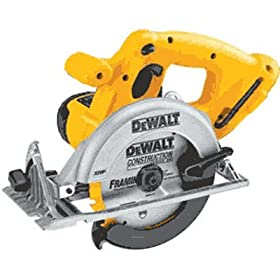 DeWalt DC390B 18V XRP Cordless Circular Saw (Bare Tool) (Blade Not Included)