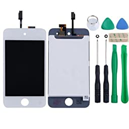 White iPod Touch 4 4th Gen 4G LCD Screen Replacement Digitizer Glass Assembly + Tools