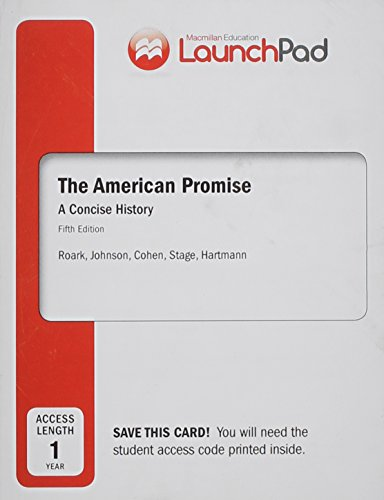 launchpad-for-the-american-promise-a-concise-history-combined-volume-twelve-month-access