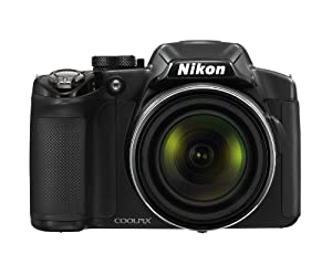 Nikon Coolpix P510 16.1 Mp Cmos Digital Camera With 42x Zoom Nikkor Ed Glass Lens And Gps Record Location Black