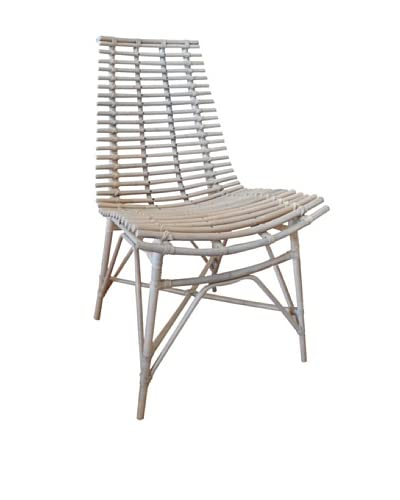 Jeffan Franklin Side Chair, White Wash
