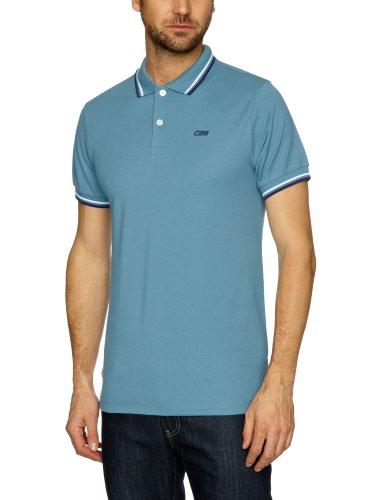 Jack and Jones Contrast Polo Shirt Men's Top Provincial Blue XX-Large