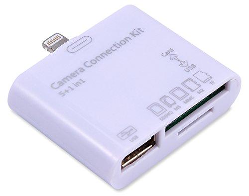 【iOS9対応】ライトニング iPhone&iPad 5in1 カメラコネク...