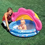 Sunshade Baby Paddling Pool