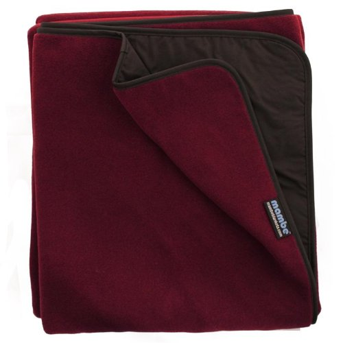 Mambe Essential Outdoor Blanket (Large, Burgundy)