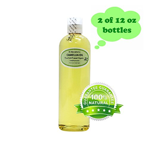 Camellia Seed Organic Carrier Oil Cold Pressed 100% Pure 24 Oz