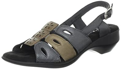 Walking Cradles Women's Lovie Slingback Sandal,Metallic Multi,11 M US