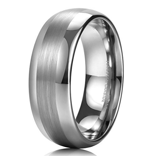 king-will-8mm-mens-tungsten-wedding-ring-one-matte-finished-brushed-center-band-any-size-105