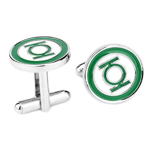 DC-Comics-Green-Lantern-Logo-Cufflinks-By-Athena