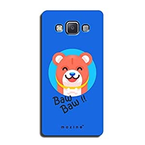 Mozine Happy Chow Chow printed mobile back cover for Samsung a7