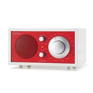 Radio Tivoli Model One Modell FROST M1FWER Weiss/Rot