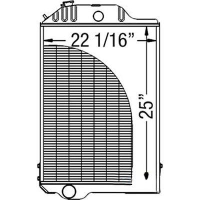 395106A1 New Upper Radiator Hose Made for Case-IH Skid Steer Loader Model 40XT