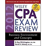 Wiley CPA 2012 BEC Review Book with Yeager 2012 BEC Lecutres and Test Cd